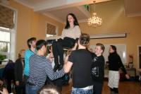 Mazie dejotāji gatavojas Skolu jaunatnes dziesmu un deju svētkiem