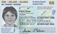 Īrija ievieš pases kartes