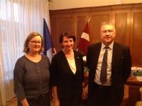 PBLA IP tiekas ar izglītības un zinātnes ministri Mārīti Seili