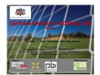 Vēstniecība aicina piedalīties Latvijas vēstniecības kausa izcīņā mini futbolā!