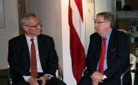 Ziemeļīrijā iepazīstina ar Latvijas prezidentūras programmu