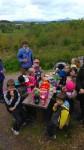 Mayo skoliņa mācību gadu noslēdz ar skatu uz Patrika kalnu