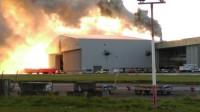 Dublinas lidosta pēc ugunsgrēka atsākusi darbu