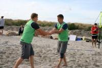 I. Ķezberis un L. Grāvelis cīnīsies par <em>King of the Beach 2015</em> titulu