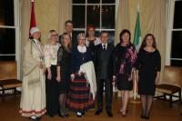 Pieņemšana Dublinā par godu Latvijas proklamēšanas 97.gadadienai