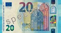 Rīt apgrozībā nonāks jaunā 20 euro banknote