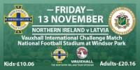 Sākas biļešu tirdzniecība uz Latvijas un Ziemeļīrijas futbola izlašu spēli