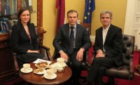 LU Latvijas Vēstures institūta direktors G. Zemītis apmeklē Īriju
