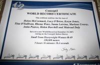 S. Laiviņa piedalās pasaules rekorda uzstādīšanā