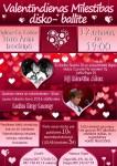 Valentīndienas disko – balle Tullow(ā)