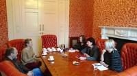 """Vēstniecībā notiek tikšanās ar """"Barka Ireland"""" pārstāvjiem par sociālo palīdzību tautiešiem"""
