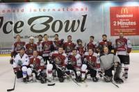 """""""Latvian Hawks"""" savus pretiniekus pārspēj ar graujošu rezultātu"""