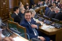 Saeima izsaka uzticību Māra Kučinska izveidotajai valdībai