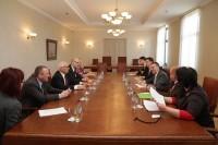 PBLA un ELA vadītāji tiekas ar ārlietu ministru