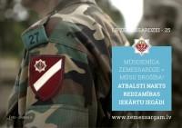 Atbalsts Latvijas Zemessardzei
