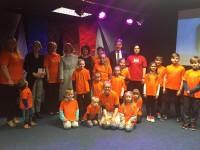 Latvijas kultūras ministre ciemojas Navanas skoliņā