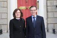Īrijā viesojas LELBāL arhibīskape L.Zušēvica
