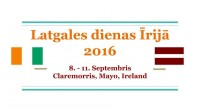 <em>LatWest</em> gatavojas Latgales dienām Īrijā