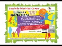 Latviešu biedrība Cavan ielūdz uz ģimeņu sporta dienu