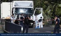 Terora akts Francijas kūrortpilsētā Nicā
