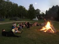 Noslēgušās vasaras nometnes programmā