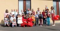 Pirmā skolas diena Droghedas skoliņā ''Ābolītis''