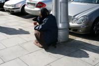 Dublinā bezpajumtniecības mērogi ir šokējoši