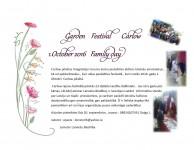 Amatniekus un pašdarbniekus aicina pieteikties Dārza svētku festivālam