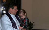 Mācītāja G.Bērziņa apsveikums Ziemsvētkos