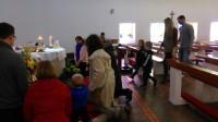 Svetā Pētera luterāņu draudzes dievkalpojumi martā