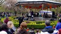 Latvieši dzied un dejo īru kultūras festivālā Dublinā