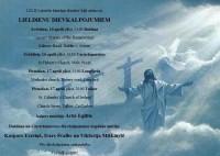 Svetā Pētera luterāņu draudzes dievkalpojumi aprīlī