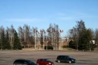 """Ceturtdien būs izmaiņas satiksmes organizācijā pie lidostas """"Rīga"""""""