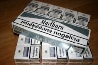 Cigarešu kontrabandā pieķerts Latvijas valstspiederīgais