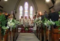 Kristus Apvienotā draudze aicina uz dievkalpojumiem, iesvētes mācībām un bērnu skoliņu
