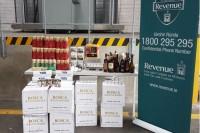 Dublinas ostā latvietim konfiscē kontrabandas preces