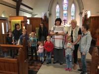 Kristus Apvienotās luterāņu draudzes skoliņā aizvadīta pirmā nodarbība