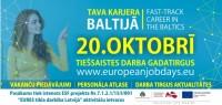 """Norisināsies pirmais Baltijas valstu tiešsaistes darba gadatirgus """"Tava karjera Baltijā"""""""