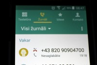 Īrijā strauji pieaug krāpniecība ar tālruņu zvaniem