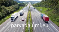 Lielu un mazu kravu piegāde, sūtījumi no durvīm līdz durvīm Latvija – Īrija – Latvija