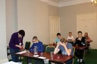 Jaunieši kārto latviešu valodas eksāmenu
