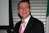 Ārlietu ministrs Edgars Rinkēvičs darba vizītē apmeklēs Īriju