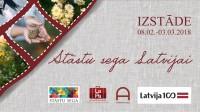 Stāstu sega Latvijai - ārzemēs dzīvojošo latviešu veltījums Latvijas valsts simtgadei