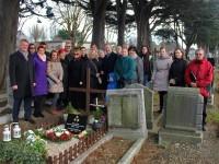 Dublinā svinīgi atklāta piemiņas plāksne diplomātam Jānim Mežam