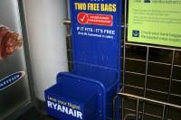 No 15.janvāra mainās Ryanair rokas bagāžas noteikumi