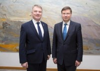 Īrijā notiek V.Dombrovska vizīte