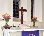 Kristus Apvienotās ev.lut. latviešu draudzes dievkalpojumi martā