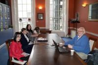 Latviešu autoru viesošanās Īrijas Rakstnieku savienībā