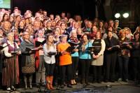 Tapis ziņu sižets par latviešu kultūras svētkiem Nīderlandē