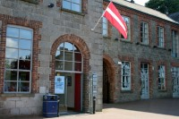 Mobilā pasu darbstacija Newry (Ziemeļīrijā)